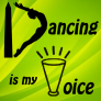 Dancing is My Voice Logo