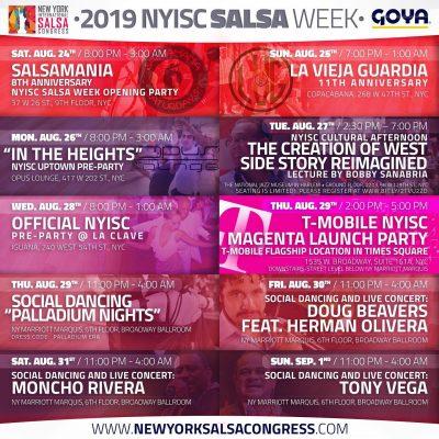 NYISC 2019 Salsa Week